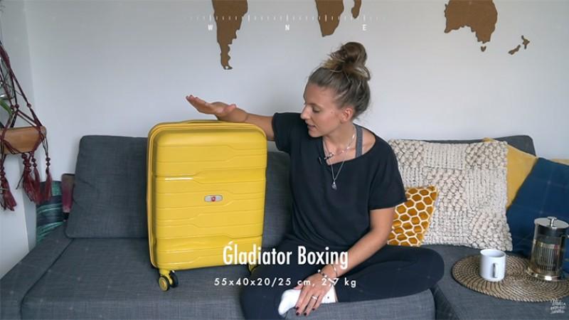 Youtuberka WEEF představuje kufr Gladiator