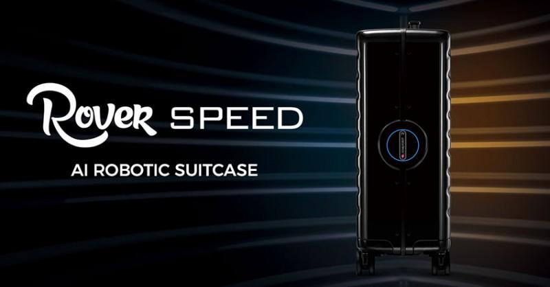 Rover SPEED AI Robotic Suitcase  - chytrý cestovní kufr