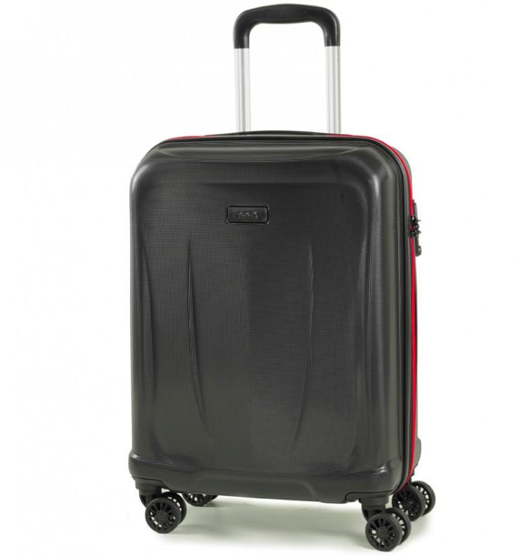 Rock DELTA Palubní kufr z ABS 55cm (černá)