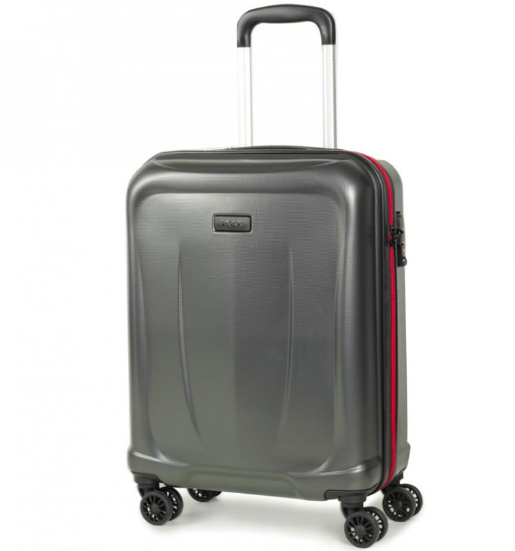 Rock DELTA Palubní kufr z ABS 55cm (charcoal)