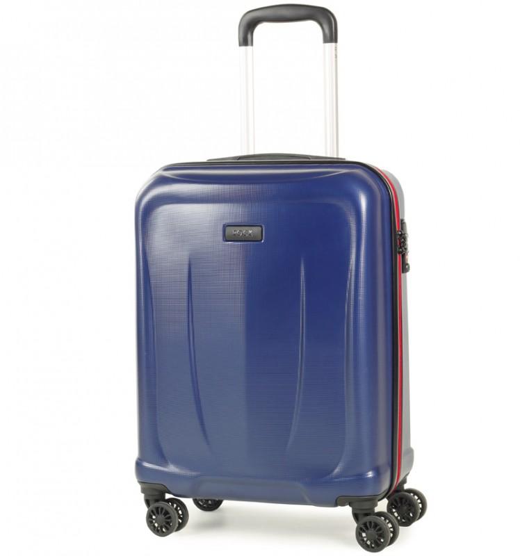 Rock DELTA Palubní kufr z ABS 55cm (modrá)