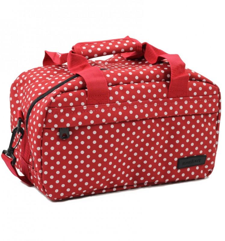 Member's ESSENTIAL ON-BOARD Cestovní taška 20 cm, XS (červená/ bílá)
