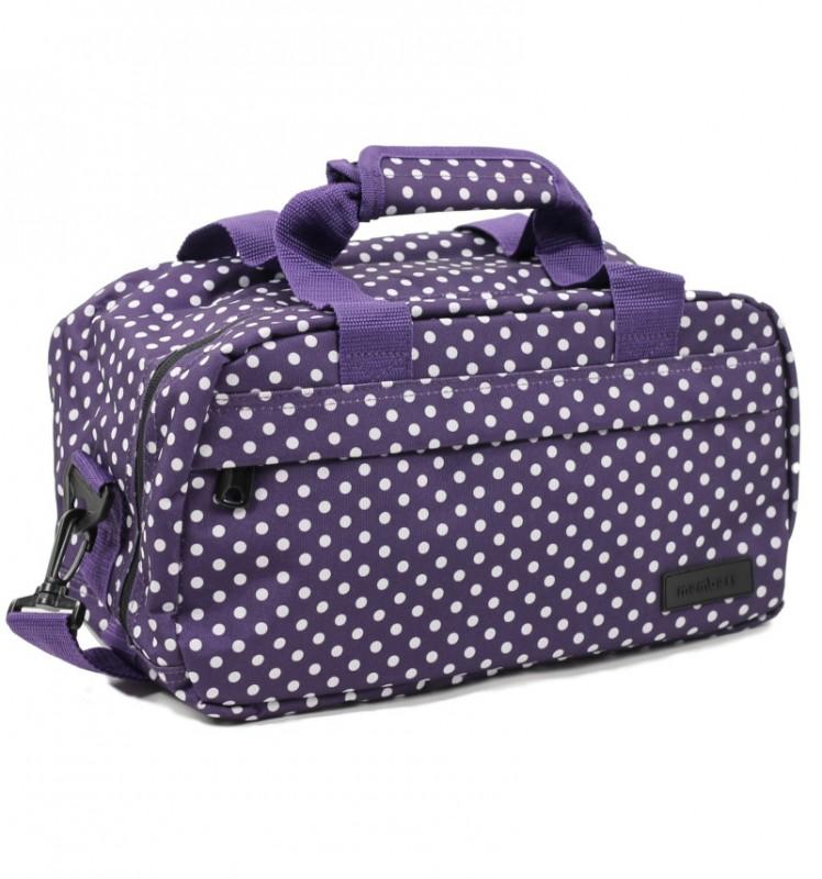 Member's ESSENTIAL ON-BOARD Cestovní taška 20 cm, XS (fialová/ bílá)