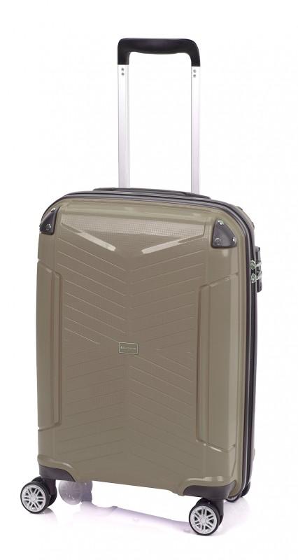 Gladiator ROCKLIKE Pevný polypropylenový kufr 55cm (Brown)