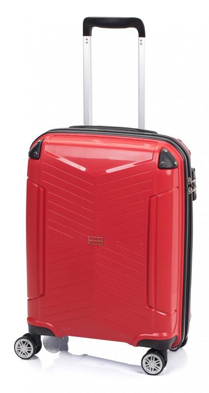 Gladiator ROCKLIKE Pevný polypropylenový kufr 55cm (Red)