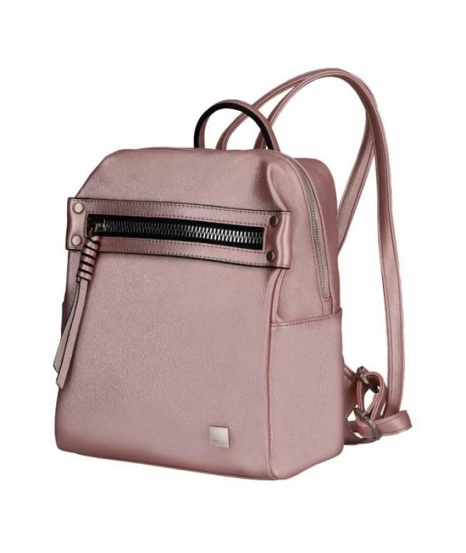 Titan SPOTLIGHT ZIP Elegantní dámský batůžek (Metallic Pink)
