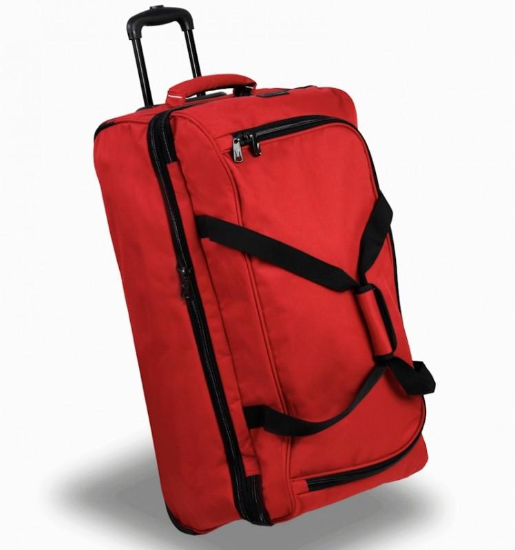 Member's TT-0032 Rozšířitelná cestovní taška na kolečkách 81cm (červená)