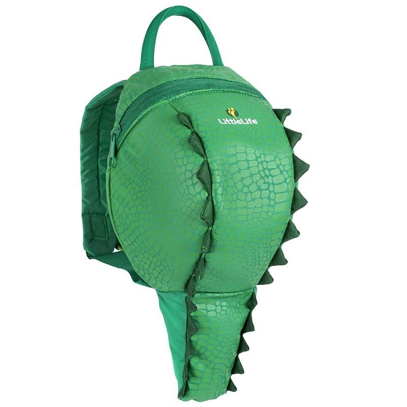LittleLife ANIMAL TODDLER DAYSACK Batoh pro nejmenší děti, 2 l - krokodýl