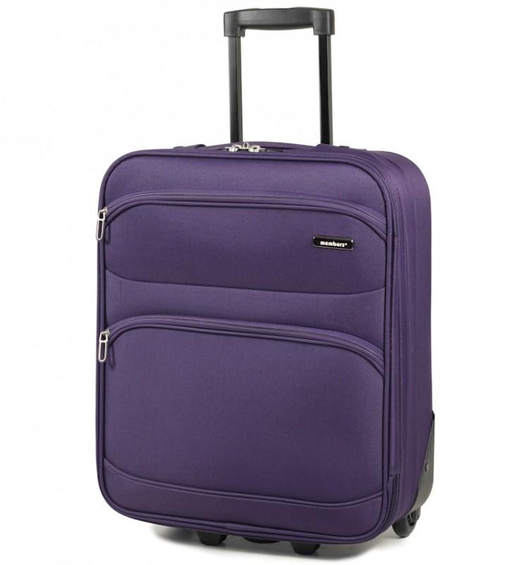 Member´s TOPAZ Kabinové zavazadlo, 54 cm (Fialová)