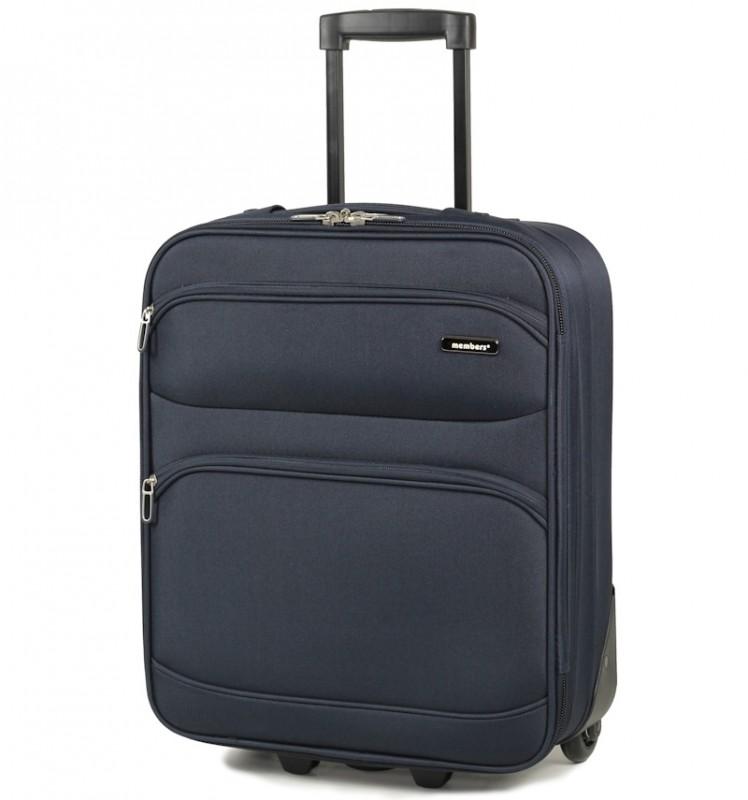 Member´s TOPAZ Kabinové zavazadlo, 54 cm (Modrá)