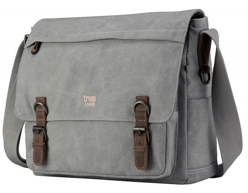 Troop London TRP0207 Brašna na notebook 15,6 - Grey