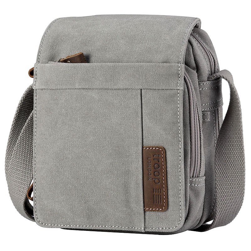 Troop London TRP0220 Unisex brašna přes rameno - Grey