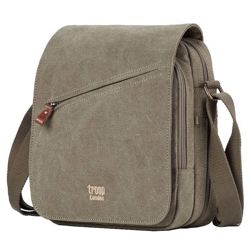Troop London TRP0238 Rozšířitelná taška přes rameno - Khaki