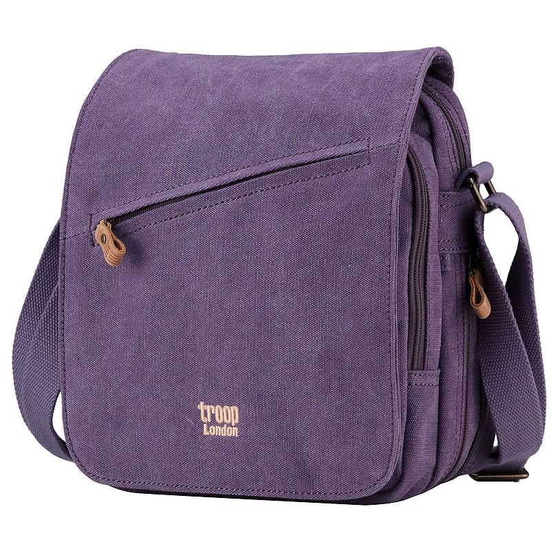 Troop London TRP0238 Rozšířitelná taška přes rameno - Purple