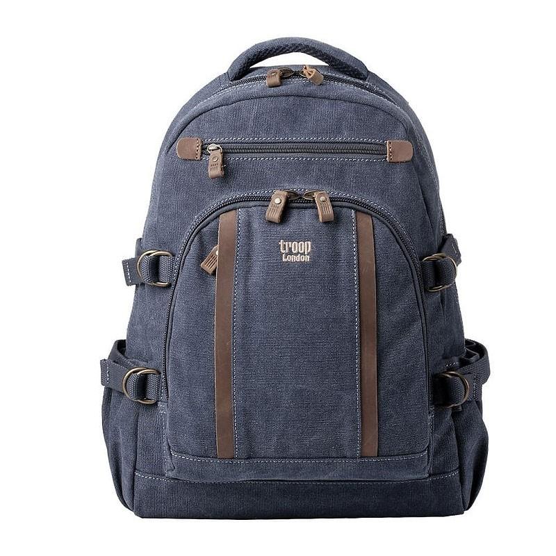 53ace12f70e ... bavlny - Blue Troop London TRP0257 Velký batoh z přírodní ...