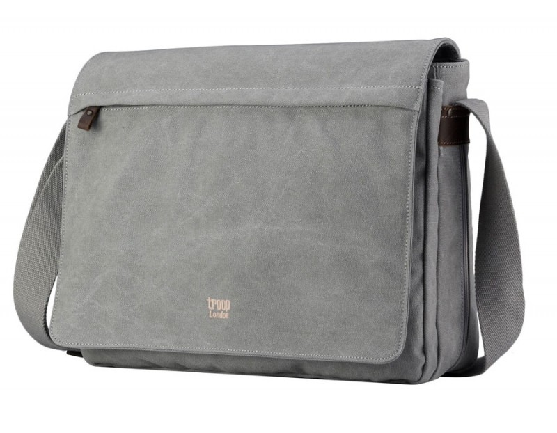 Troop London TRP0371 Brašna na notebook 17 - Grey