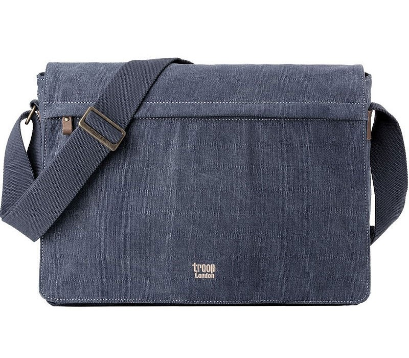 Troop London TRP0371 Brašna na notebook 17 - Blue