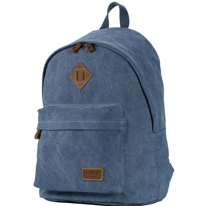 Troop London TRP0384 Školní batoh klasického vzhledu - Blue