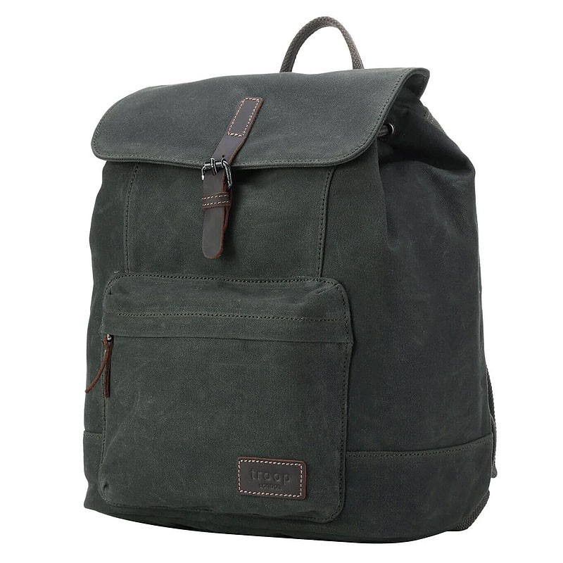 Troop London TRP0442 Batoh do města - Dark Green