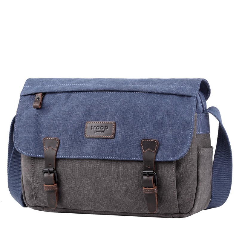 Troop London TRP0463 Větší brašna na NTB 13 - Blue/ Grey