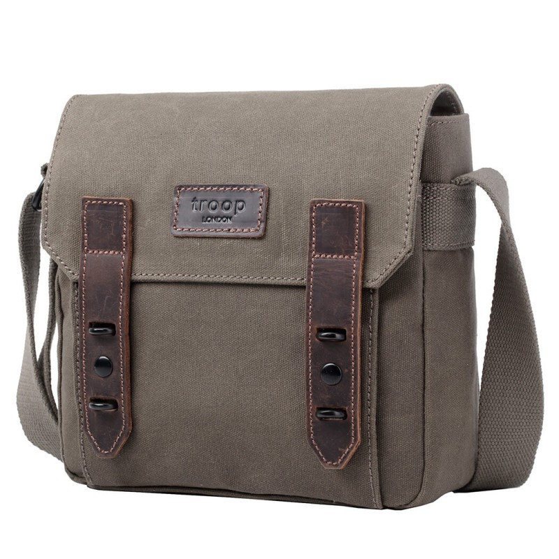 Troop London TRP0491 Unisex taška - Olive