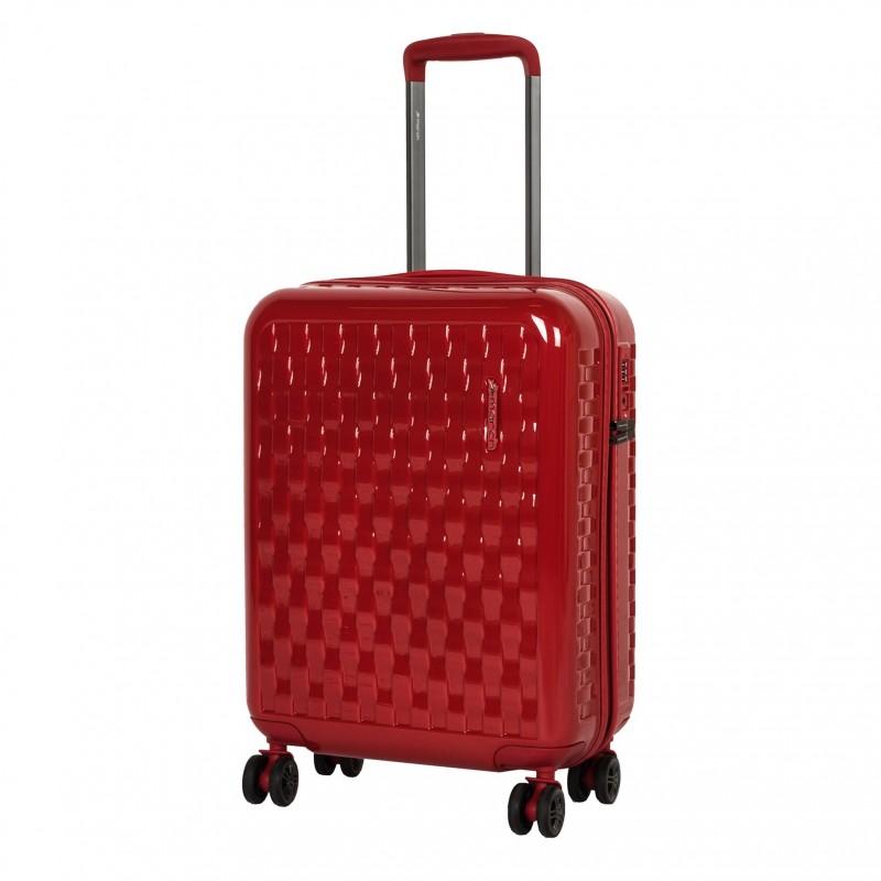 March WAVE Odolný palubní kufr 55cm (Red)