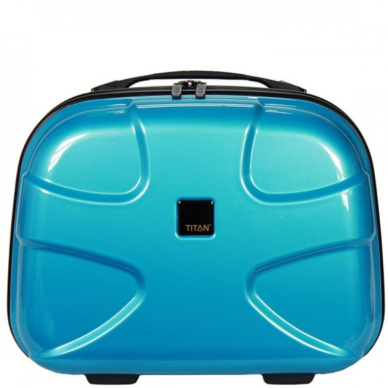 Titan X2 FLASH Kosmetický kufřík (azurová)