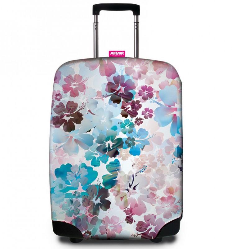SuitSuit - Obal na kufr - vzor Beach Flowers