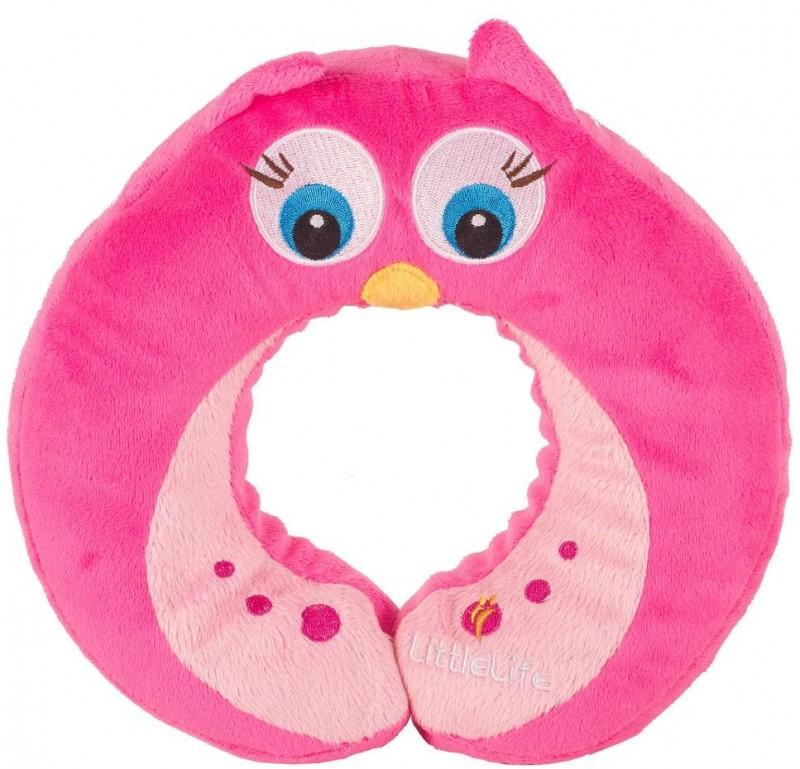 LittleLife CESTOVNÍ POLŠTÁŘEK pro děti - vzor Owl