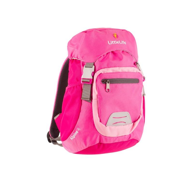 LittleLife ALPINE 4 KIDS DAYSACK Batoh pro děti od 3 let, 4 l - Pink