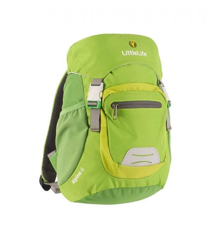 LittleLife ALPINE 4 KIDS DAYSACK Batoh pro děti od 3 let, 4 l - Green