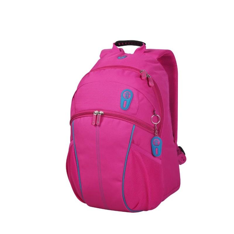 Totto PRINSTON Jednokomorový batoh pro studenty (Pink)
