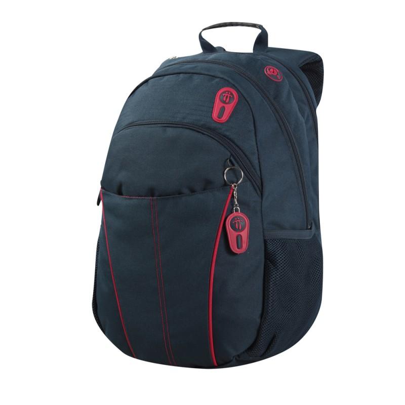 Totto PRINSTON Jednokomorový batoh pro studenty (Navy)