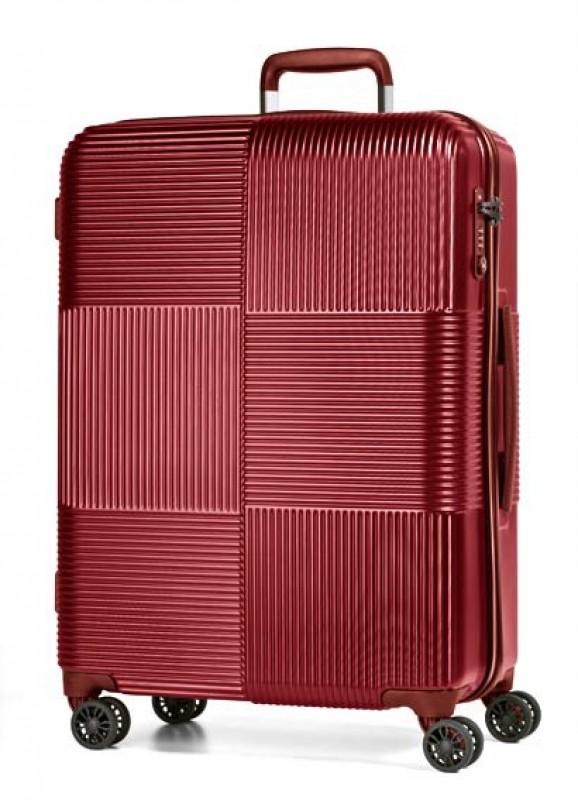 March AVENUE Luxusní palubní polykarbonový kufr 55cm (Red)