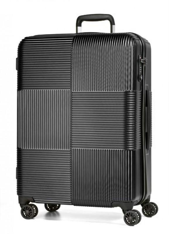 March AVENUE Velký luxusní polykarbonový kufr 77cm (Black)