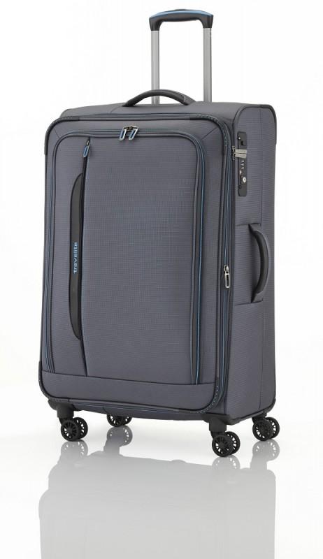 Travelite CROSSLITE Špičkový velký kufr na 4 kolečkách (Anthracite)