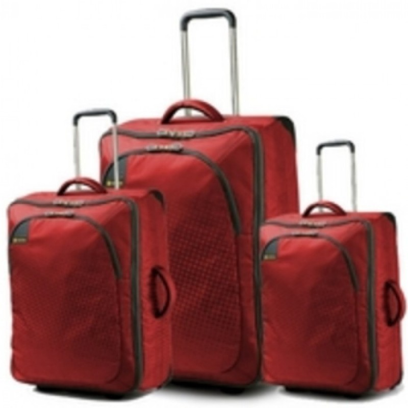 Carlton TRIBE Trolley Set 72/65/50cm (červená)