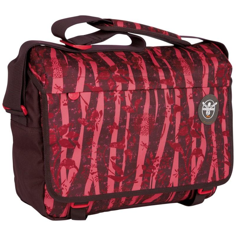 Chiemsee BASE Velká taška přes rameno - Zebra