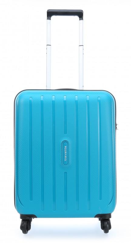 Travelite UPTOWN Palubní extrémě pevný a lehký kufr 55 cm, S (Petrol)