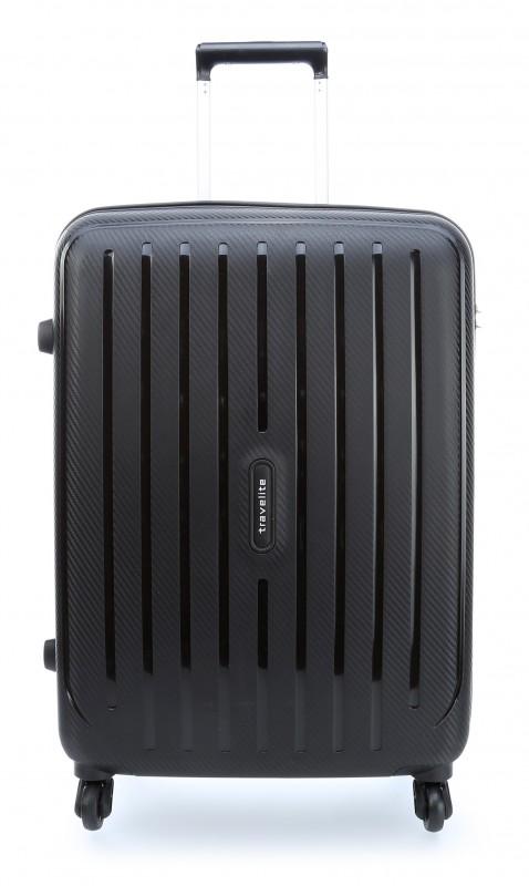 Travelite UPTOWN Extrémě pevný a lehký kufr 65 cm, M (Black)