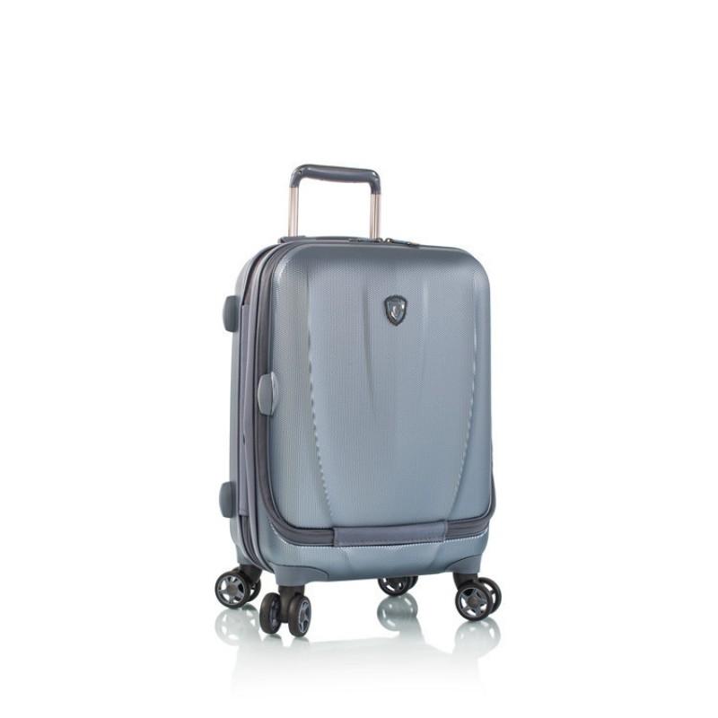Heys VANTAGE SMART Exkluzivní skořepinový kufr 53 cm (Slate Blue)