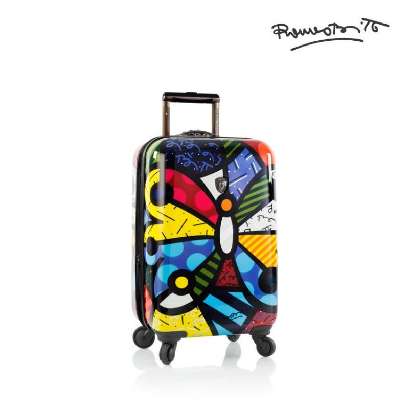 Heys BRITTO BUTTERFLY Luxusní designový palubni kufr, 53cm