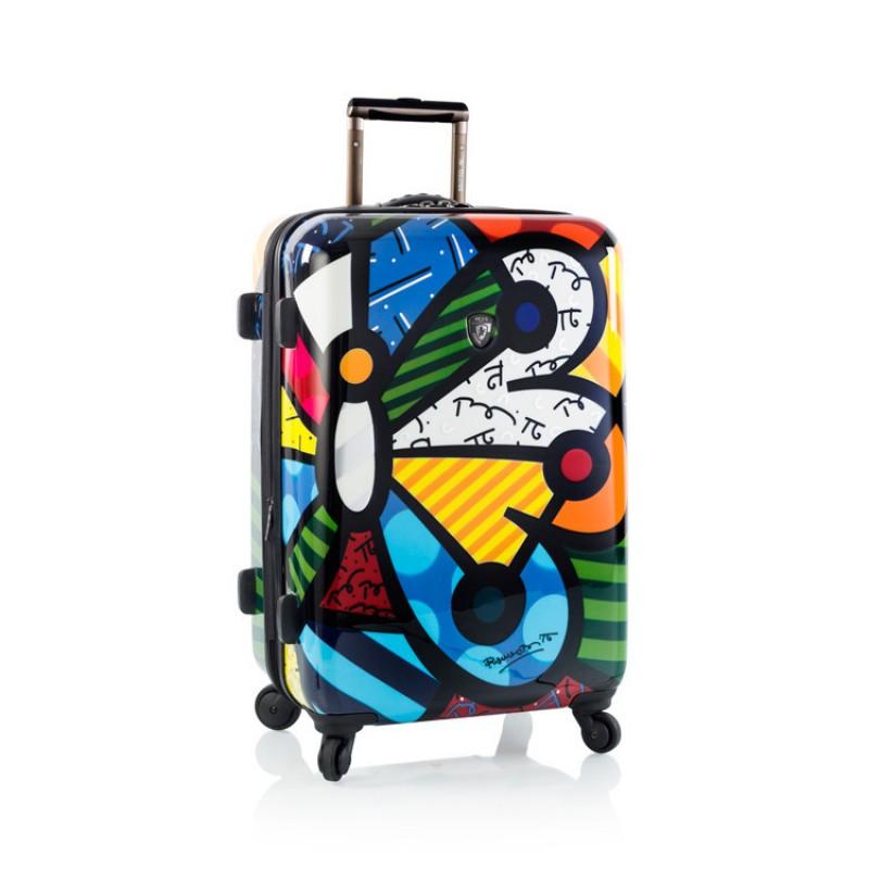Heys BRITTO BUTTERFLY Luxusní designový kufr, 66cm