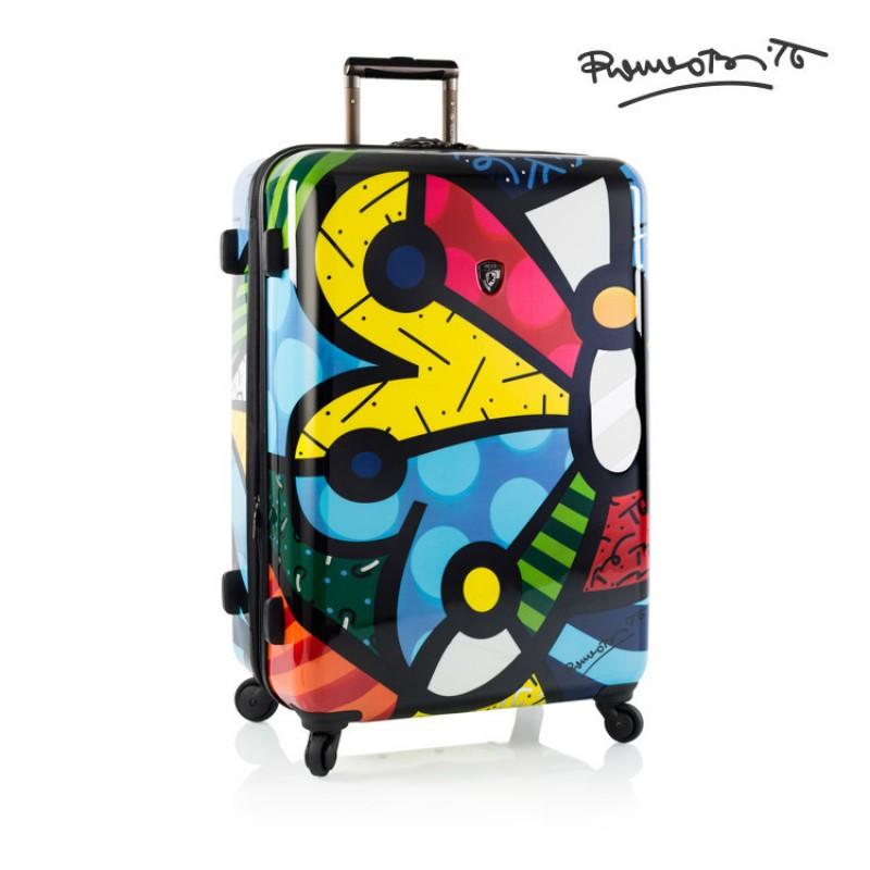 Heys BRITTO BUTTERFLY Luxusní designový kufr, 76cm