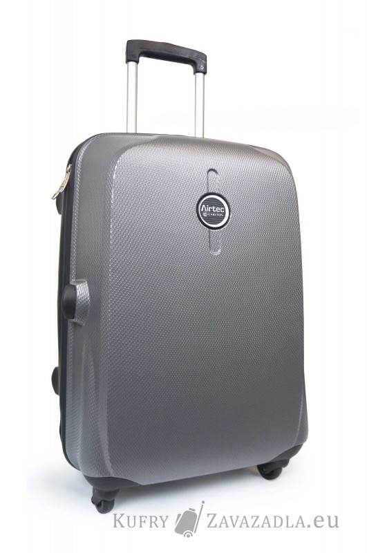 Carlton ECLIPSE Spinner Trolley Case 65cm (stříbrná)