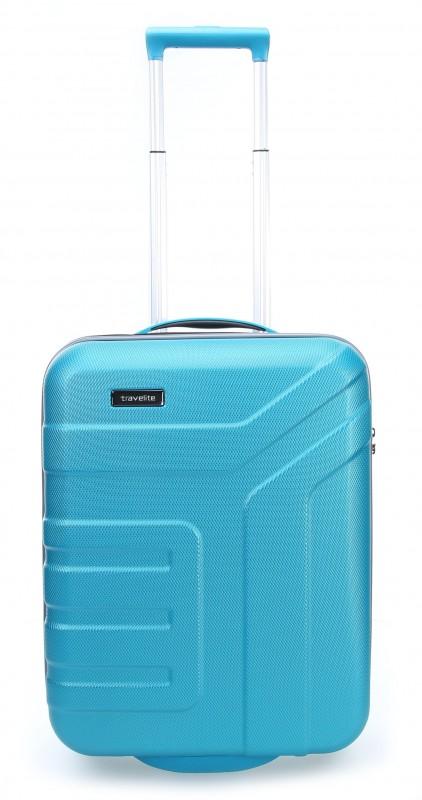 Travelite VECTOR Moderní kufr na dvou kolečkách 55 cm (Turquoise)