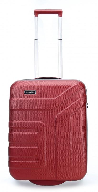 Travelite VECTOR Moderní kufr na dvou kolečkách 55 cm (Coral)