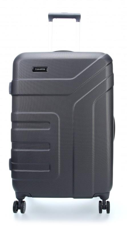 Travelite VECTOR Moderní kufr na čtyřech kolečkách 70 cm (Anthracite)