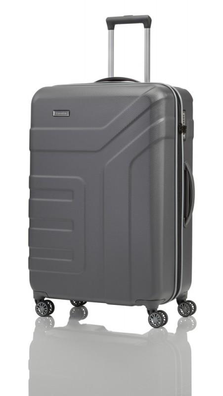 Travelite VECTOR Moderní kufr na čtyřech kolečkách 77 cm (Anthracite)