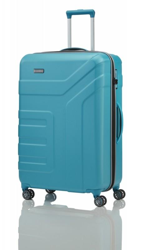 Travelite VECTOR Moderní kufr na čtyřech kolečkách 77 cm (Turquoise)